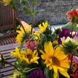 Blomster blandet buket